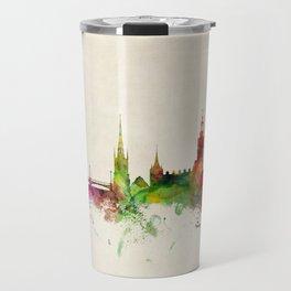 Stockholm Sweden Skyline Travel Mug
