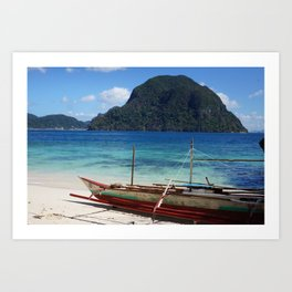 Serenity (El Nido, Palawan) Art Print