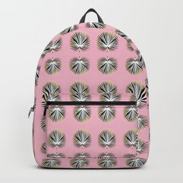 Palms and Pink Backpack