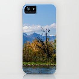 Autumn in Kamchatka iPhone Case