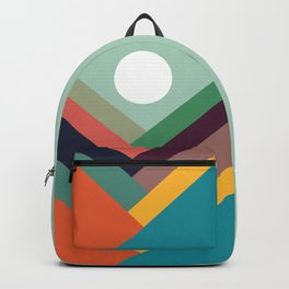 Rows of valleys Backpack