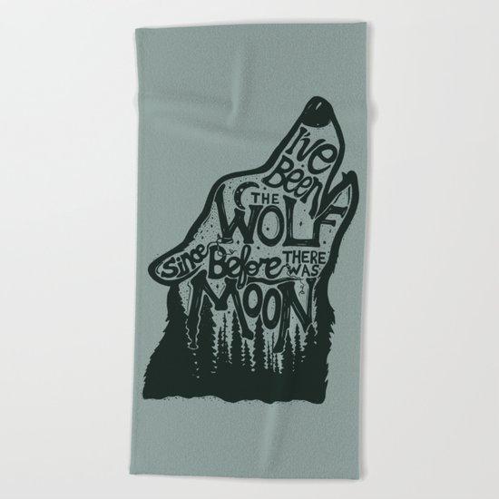 The Wolf Beach Towel