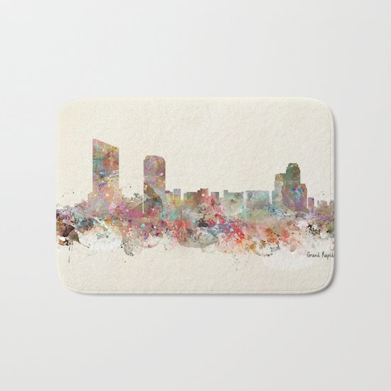 grand rapids michigan Bath Mat