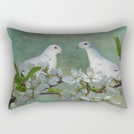 A Spring Thing Rectangular Pillow