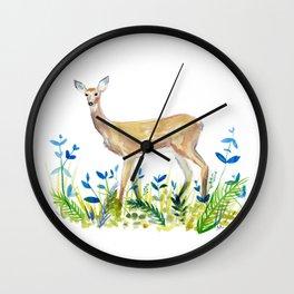 Sweet Deer Wall Clock