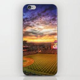 Coors Field iPhone Skin