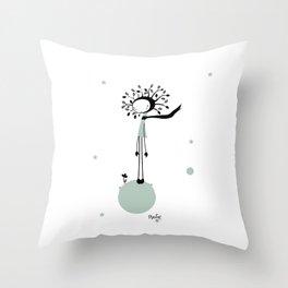 NenatreeFlower Throw Pillow