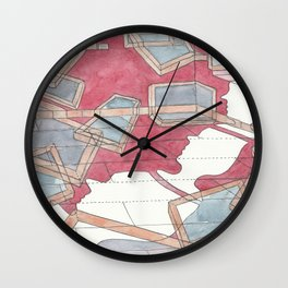 Everything is moving out Wall Clock