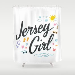 Jersey Girl Shower Curtain