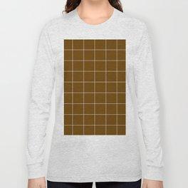 Minimal_LINES_EARTH Long Sleeve T-shirt