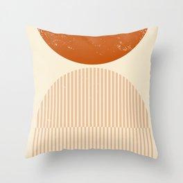 Boho Geometry - modern, nursery, farmhouse, paint, decoration, wellbeing, summer, android, bauhaus, Throw Pillow