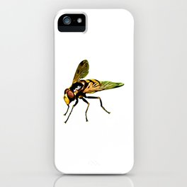 Pretty Giant wasp for Insect Lovers iPhone Case