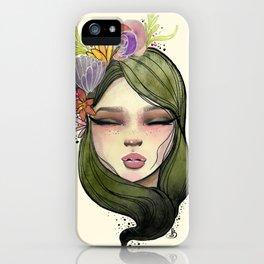 Adela iPhone Case