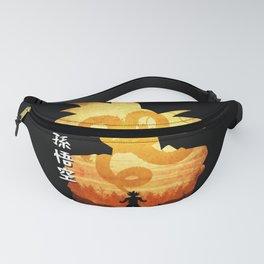 Minimalist Silhouette Goku Fanny Pack