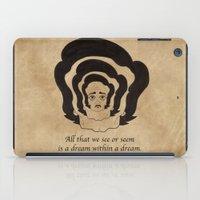 poe iPad Cases featuring Poe Dream by 2headedsnake