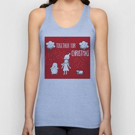 Together for Christmas Unisex Tank Top