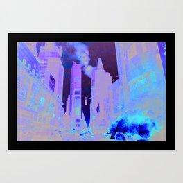 Deep Infection Art Print