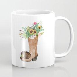 Southwestern Sunflower Coffee Mug