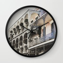 New Orleans Throwback Wall Clock