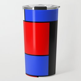 Mondrian #51 Travel Mug