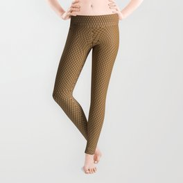 Nylon Stocking Mesh Grid Leggings