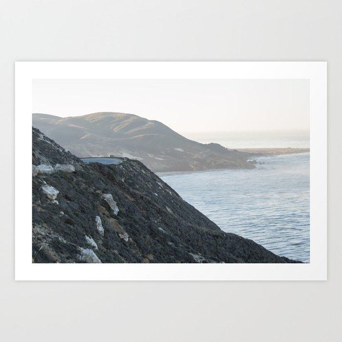 Big Sur Morning Art Print