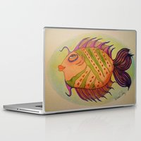 potter Laptop & iPad Skins featuring MRS. POTTER by Caribbean Critters Co.