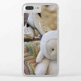 Baby Coming Clear iPhone Case