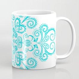 Snow flowers. Coffee Mug
