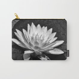 Water Lilly Bloom Carry-All Pouch