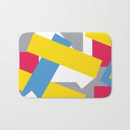 Five Strip Color Pattern 1 Bath Mat