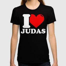 Judas Lover Gifts - I love Judas T-shirt