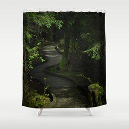 Path of Shadows Shower Curtain