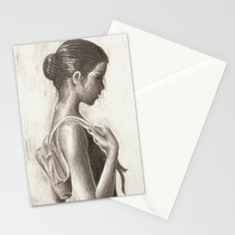 Ballerina Stationery Cards
