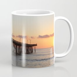 Virginia Beach Pier Sunrise2 Coffee Mug