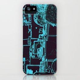 9-1-1 blue iPhone Case