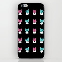 Neon Foxes iPhone Skin