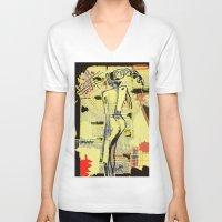 women V-neck T-shirts featuring Women by sladja