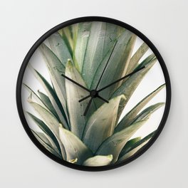 Pineapple Top Wall Clock