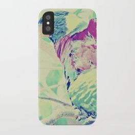 Colorful Bird Dreams  iPhone Case