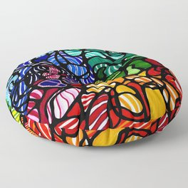 Coral Reef Floor Pillow