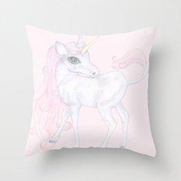 Unicorn ♡ Throw Pillow