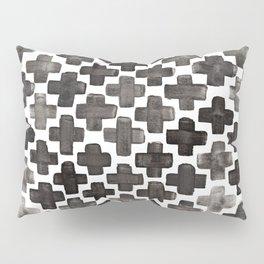 Black & White Crosses - Katrina Niswander Pillow Sham