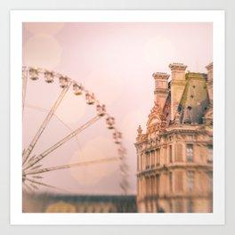 Mon Ami, Paris! Art Print