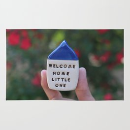 Welcome Home Little One House Rug