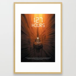127 Hours Framed Art Print