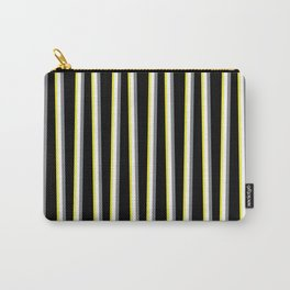 Between the Trees Black, Grey & Yellow #462 Carry-All Pouch