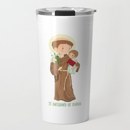 St. Anthony of Padua Travel Mug