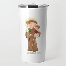 St. Anthony of Padua Travel Mug