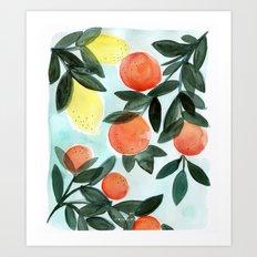 Dear Clementine Art Print